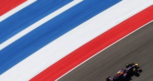 AUSTIN, TX - NOVEMBER 15: Sebastian Vettel of Germany and Infiniti Red Bull Racing drives during practice for the United States Formula One Grand Prix at Circuit of The Americas on November 15, 2013 in Austin, United States. (Photo by Mark Thompson/Getty Images) *** Local Caption *** Sebastian Vettel