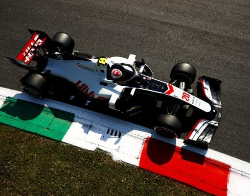 Kevin Magnussen under Italiens GP 2020. Andy Hone / LAT Images