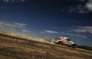 Marek Dabrowski and Jacek Czachor (co-driver) race during the 4th stage of Dakar Rally from San Juan to Chilecito, Argentina on January 7th, 2014 // Kin Marcin/Red Bull Content Pool // P-20140113-00112 // Usage for editorial use only // Please go to www.redbullcontentpool.com for further information. //